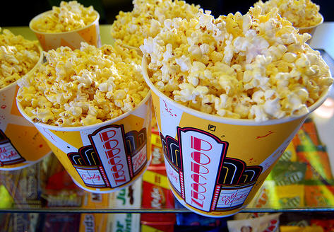 Popcorn: a huge moneymaker for theaters