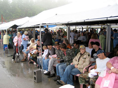 Remote Area Medical's health care fair in Virginia in 2007