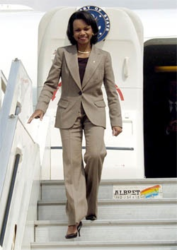 coming soon to a theater near you condoleezza rice pr watch