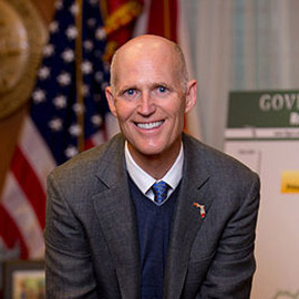 Florida Gov. Rick Scott (image by Meredyth Hall)