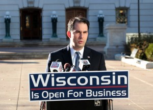 Scott Walker, Wisconsin Is Open For Business