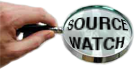 early SourceWatch logo