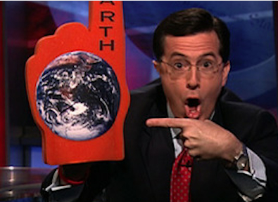 Colbert on NC, climate change and sea level