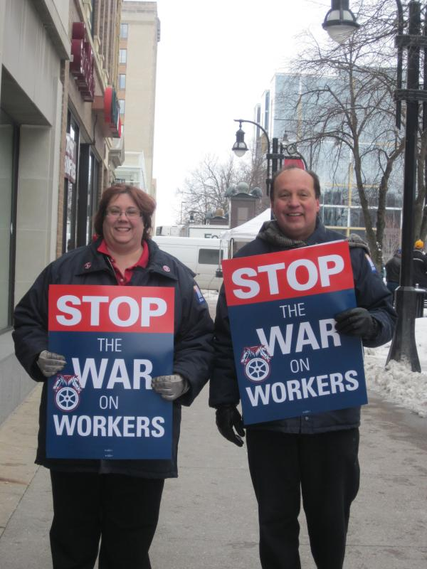 Stop the war on workers