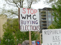 Stop WMC buying elections