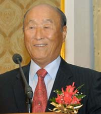 Sun Myung Moon (Source: Universal Peace Federation)