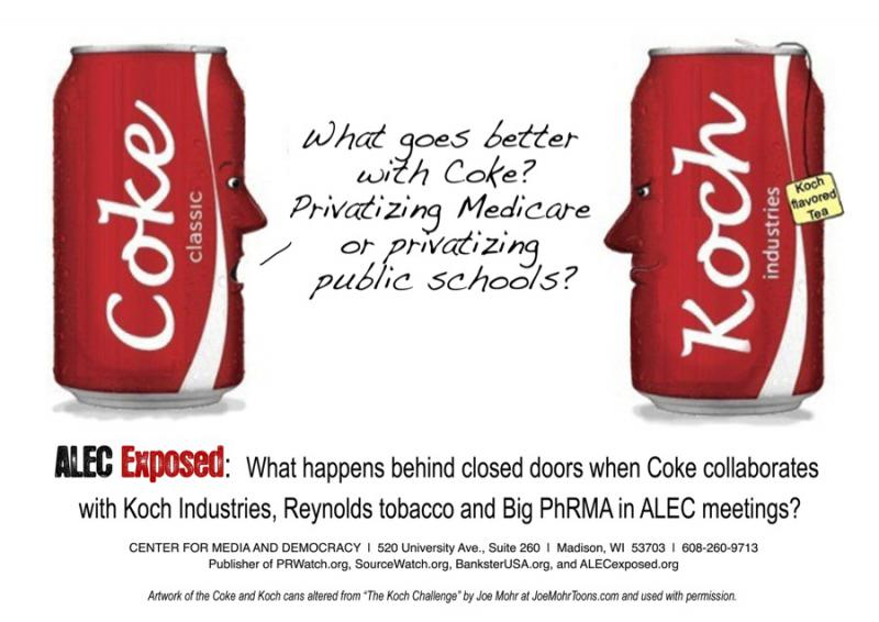 Take Action Coke Postcard 2011