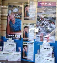 Tebonin Pharmacy Promotion