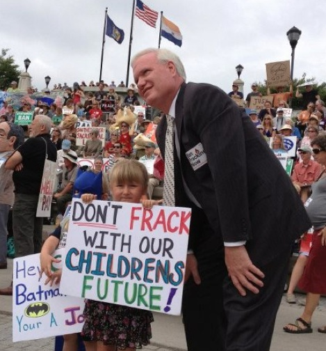 New York State Senator Tony Avella at Monday's rally