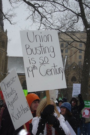 Union busting is so 19th century