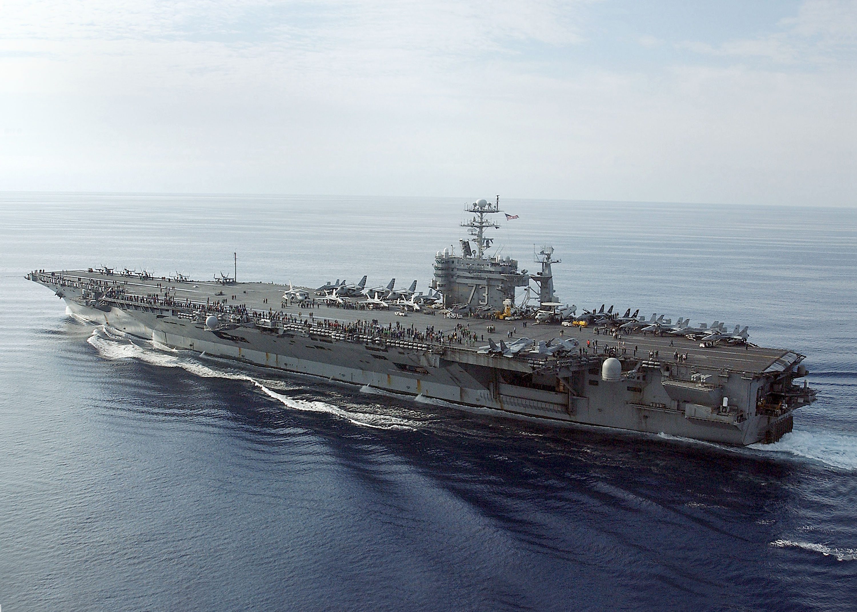 The USS George Washington