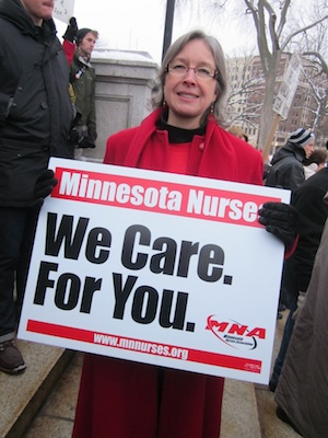 Minnesota Nurses. We Care. For You.
