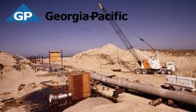 Georgia Pacific milling operation Isthmus Slough (Source:Wikimedia Commons, Gene Daniels)
