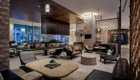 Lobby of JW Marriott in Austin, TX