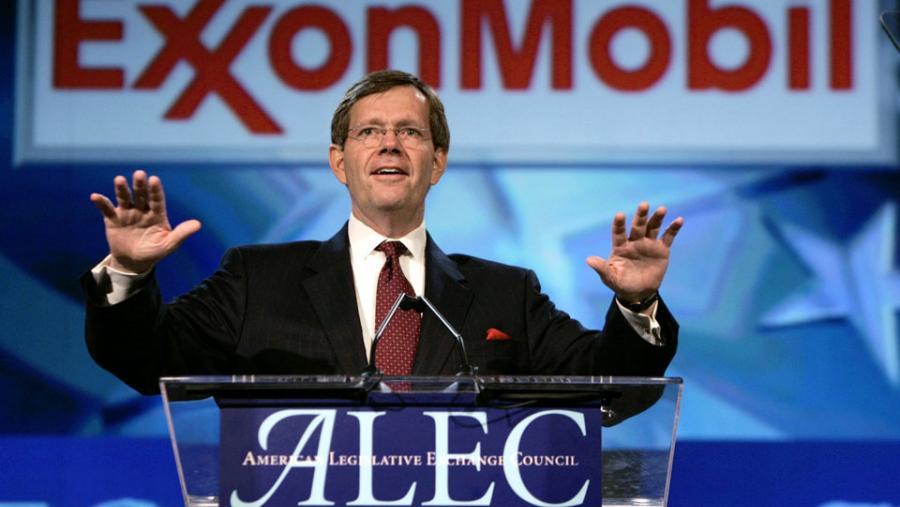 ExxonMobil dumps ALEC.