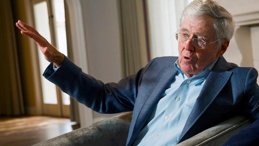 Photograph of Charles Koch by Kevin Moloney/Fortune Brainstorm TECH. (Used under creative commons license.)