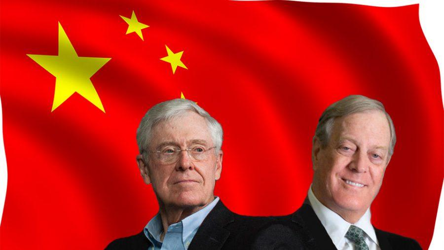 The Kochs Purchase a Stake in SINA, the Chinese Telecommunication