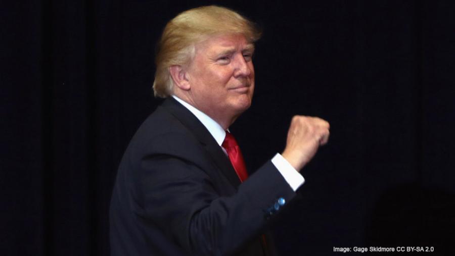 Donald Trump 2016 rally