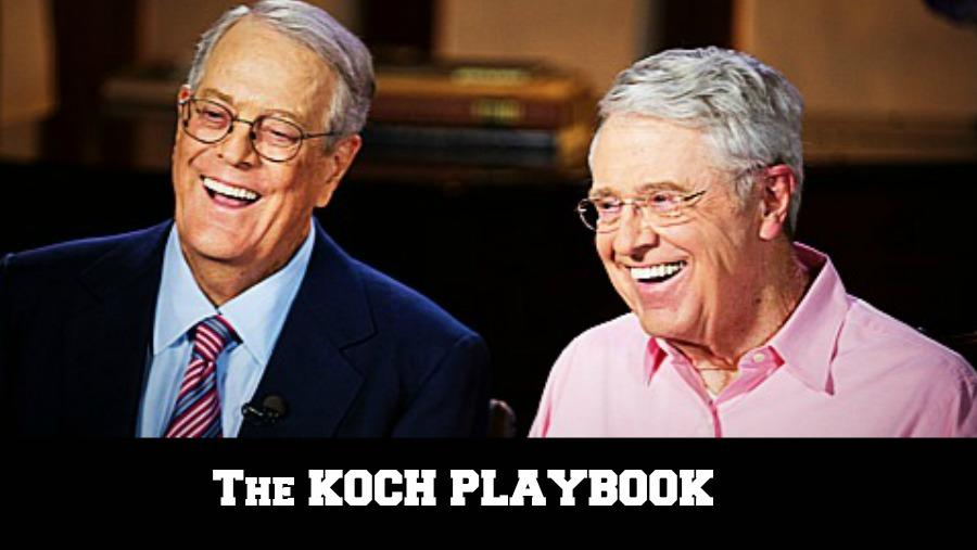 Koch-Fueled Playbook against Working Families Exposed by CMD