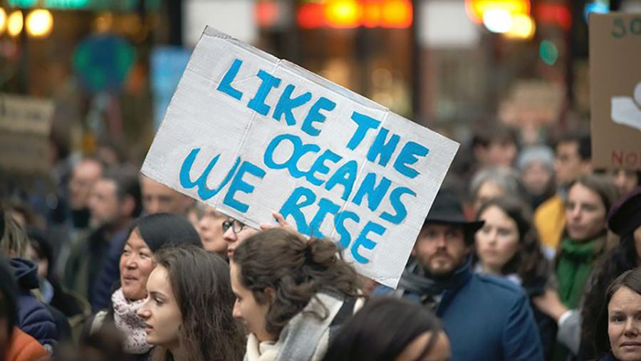 Climate activists (Alain Pitton/NurPhoto via Getty)