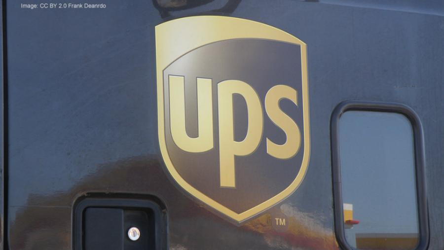 UPS shield CC BY 2.0 Frank Deanrdo