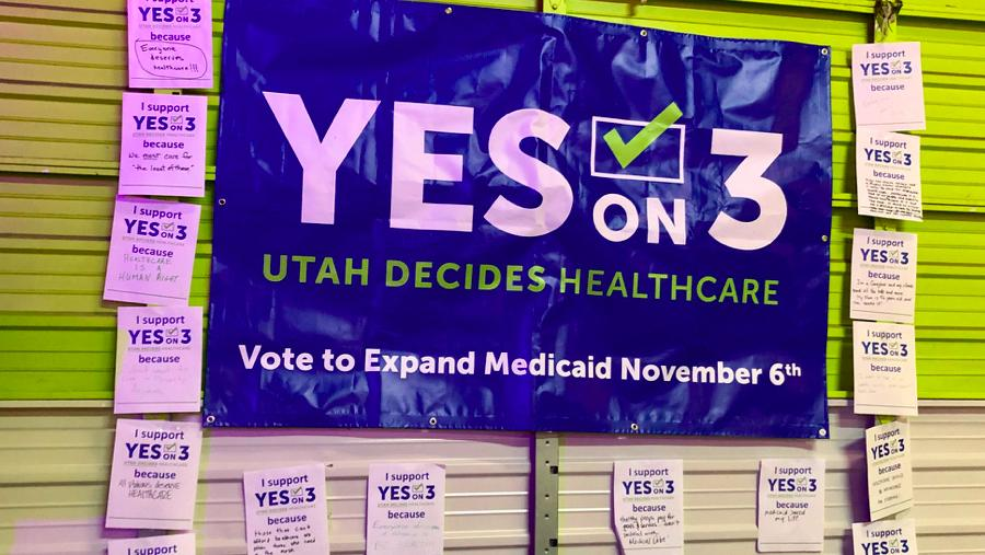 Utah's Prop 3 to expand Medicaid