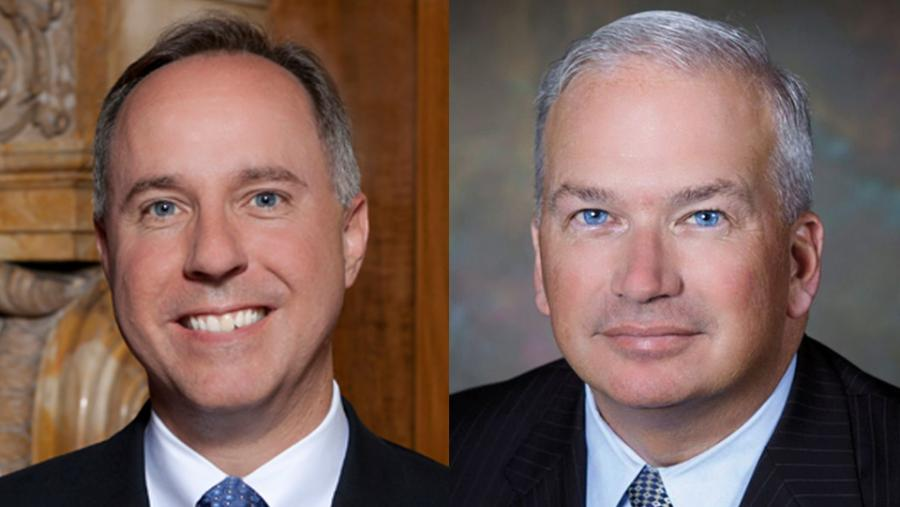 Robin Vos, Speaker of the Wisconsin State Assembly and Scott Fitzgerald, Wisconsin State Senator (R)