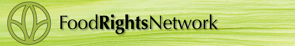 Food Rights Network Masthead