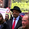 Image of Jesse Jackson, Sr. at Occupy Phoenix