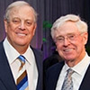 Image of David and Charles Koch